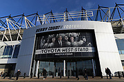 Pride Park before the EFL Sky Bet Championship match between Derby County and Hull City at the Pride Park, Derby, England on 18 January 2020.