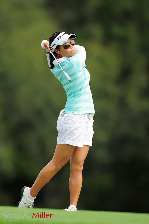 Sue Kim during the final round of the Daytona Beach Invitational  at LPGA International on Sep 30, 2012 in Daytona Beach, Florida...©2012 Scott A. Miller