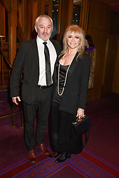 26 January 2020 - Carl Douglas and Jo Wood at the Ballet Icons Gala at the London Coliseum, St.Martin's Lane, London.<br /> <br /> Photo by Dominic O'Neill/Desmond O'Neill Features Ltd.  +44(0)1306 731608  www.donfeatures.com