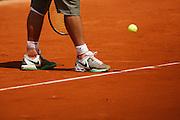 Roland Garros. Paris, France. May 30th 2008..Rafael NADAL against Jarkko NIEMINEN. .3rd Round...