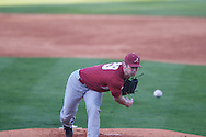 Alabama's Charley Sullivan pitches against Ole Miss at Oxford-University Stadium in Oxford, Miss. on Friday, April 12, 2013. Ole Miss won 6-0 to snap a 6 game losing streak.