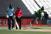 Andile Phehlukwayo during the One Day International match between South Africa and England at PPC Newlands, Capetown, South Africa on 4 February 2020.
