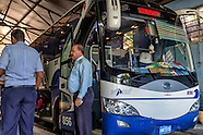 Bus station Viazul, Havana, Cuba.