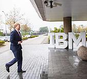 Werkbezoek Koning Willem Alexander aan IBM