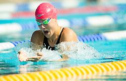 Tanja Smid of PK Ilirija competes in 200m Breaststroke during Slovenian Swimming National Championship 2014, on August 3, 2014 in Ravne na Koroskem, Slovenia. Photo by Vid Ponikvar / Sportida.com