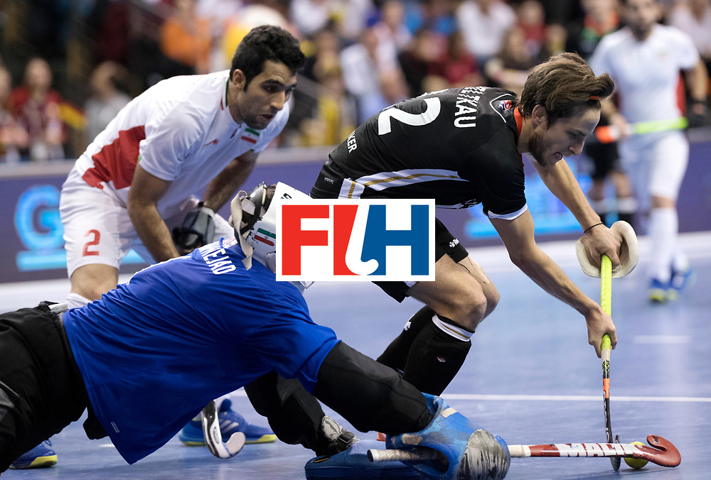BERLIN - Indoor Hockey World Cup<br /> Semi-final 1: Germany - Iran<br /> foto: Marco Miltkau.<br /> WORLDSPORTPICS COPYRIGHT FRANK UIJLENBROEK