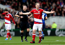 Grant Leadbitter of Middlesbrough - Mandatory by-line: Robbie Stephenson/JMP - 19/03/2017 - FOOTBALL - Riverside Stadium - Middlesbrough, England - Middlesbrough v Manchester United - Premier League