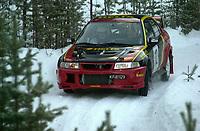 Ål 180103 - Rally NM åpning i Hallingdal - Bernhard Kongsrud og Rune Bekkevold NAF Asker og Bærum jr. vant gruppe N.<br /> Foto: Birger Henriksen, Digitalsport
