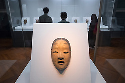 Noh Mask on display at Tokyo National Museum Japan
