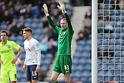 Chris Kirkland during the Sky Bet Championship match between Preston North End and Brighton and Hove Albion at Deepdale, Preston, England on 5 March 2016.