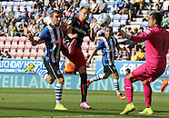 Wigan Athletic v Reading 090814
