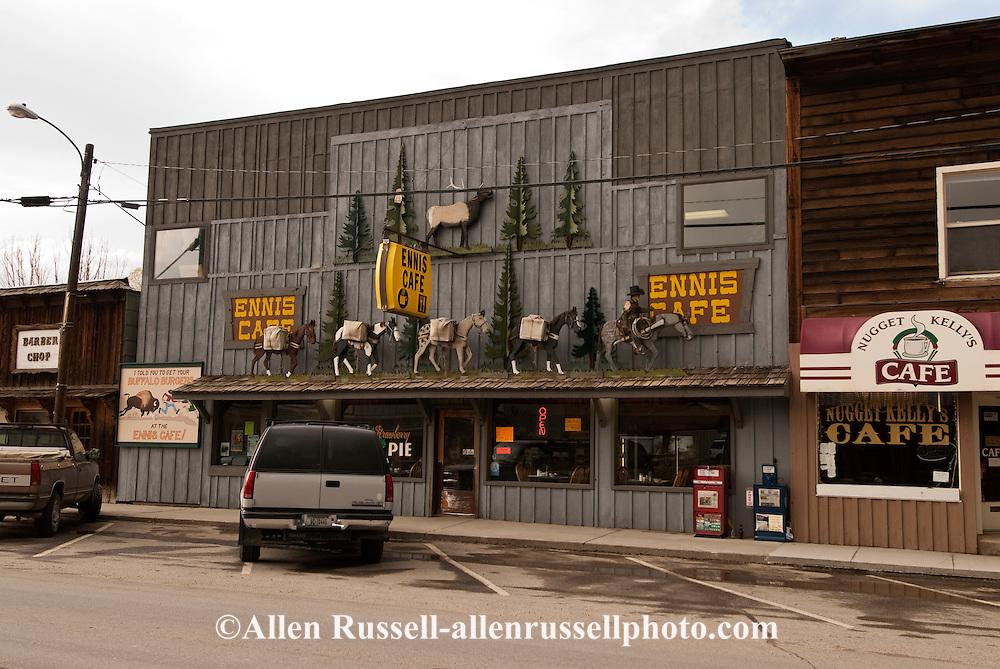Ennis, Montana, Main Street, Ennis Cafe