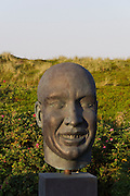 Sylt, Germany. Rantum. Sansibar. Modern sculpture.