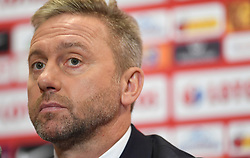 WARSAW, July 24, 2018  Newly appointed head coach of the Polish national football team Jerzy Brzeczek attends a press conference in Warsaw, Poland, July 23, 2018. (Credit Image: © Maciej Gillert/Xinhua via ZUMA Wire)