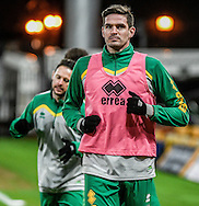 Kyle Lafferty of Norwich City U23 before the match against Dinamo Zagreb U23 in the Premier League International Cup Quarter-Final match at Carrow Road, Norwich<br /> Picture by Matthew Usher/Focus Images Ltd +44 7902 242054<br /> 27/02/2017