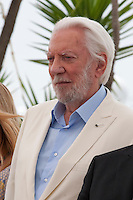 Actor Donald Sutherland at the Members of the Jury photo call at the 69th Cannes Film Festival Wednesday 11th May 2016, Cannes, France. Photography: Doreen Kennedy