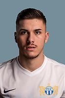 Portrait von Mirlind Kryeziu, vom FCZ aufgenommen im Letzipark Stadion am 27. Juli 2017. (KEYSTONE/Gaetan Bally)