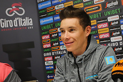 Foto Filippo Rubin/LaPresse <br /> 09 maggio 2019 Bologna (Italia)<br /> Sport Ciclismo<br /> Giro d'Italia 2019 - edizione 102 - Conferenza Stampa Team.<br /> Nella foto: Astana.LOPEZ MORENO Miguel Angel<br /> <br /> Photo Filippo Rubin/LaPresse<br /> May 09, 2019  Bologna (Italy)  <br /> Sport Cycling<br /> Giro d'Italia 2019 - 102th edition - Team Press Conference .<br /> In the pic: Astana.LOPEZ MORENO Miguel Angel