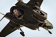 RAF Royal Air Force Lockheed Martin F-35 Lightning II fighter jet plane at Royal International Air Tattoo, RIAT