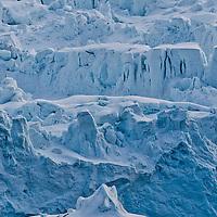 Alberto Carrera, Arctic Lands, Deep Blue Glacier, Albert I Land, Arctic, Spitsbergen, Svalbard, Norway, Europe