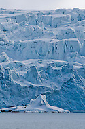 Alberto Carrera, Arctic Lands, Deep Blue Glacier, Albert I Land, Arctic, Spitsbergen, Svalbard, Norway, Europe