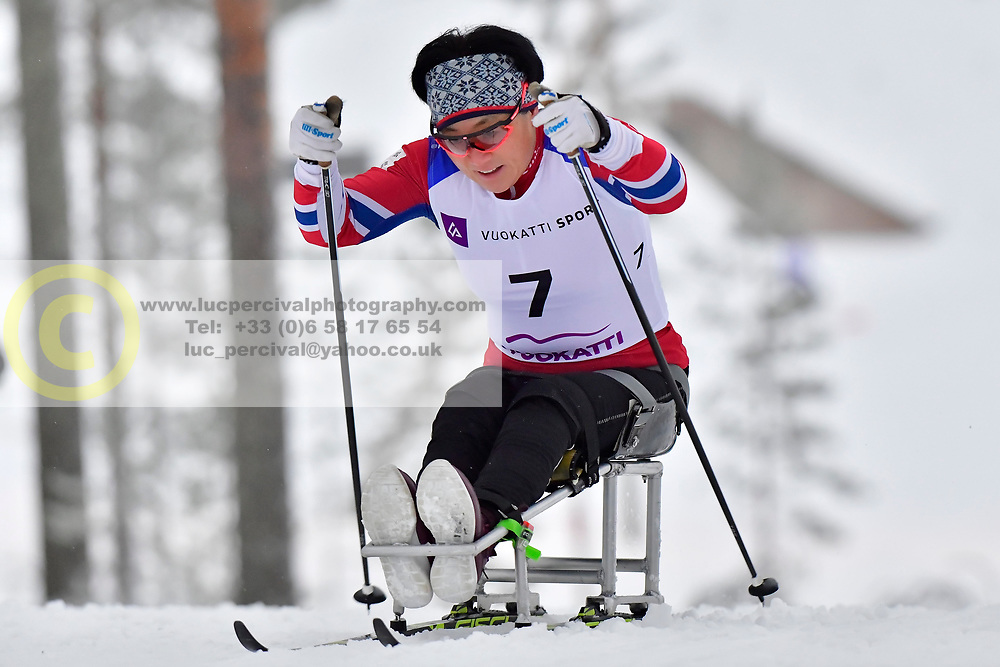 LEE Doyeon, KOR, LW12 at the 2018 ParaNordic World Cup Vuokatti in Finland