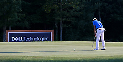 September 4, 2017 - Norton, Massachusetts, United States - Justin Thomas putts the 18th green during the final round of the Dell Technologies Championship at TPC Boston. (Credit Image: © Debby Wong via ZUMA Wire)