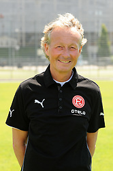03.07.2014, ESPRIT arena, Duesseldorf, GER, 2. FBL, Mannschaftsfototermin Fortuna Duesseldorf, im Bild Physiotherapeut Bernd Restle ( Fortuna Duesseldorf / Portrait ) // during a Photo Shoot of German 2nd Bundesliga Club Fortuna Duesseldorf at the ESPRIT arena in Duesseldorf, Germany on 2014/07/03. EXPA Pictures © 2014, PhotoCredit: EXPA/ Eibner-Pressefoto/ Thienel<br /> <br /> *****ATTENTION - OUT of GER*****
