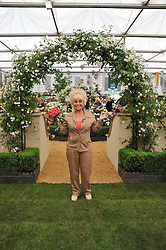 BARBARA WINDSOR at the 2011 RHS Chelsea Flower Show VIP & Press Day at the Royal Hospital Chelsea, London, on 23rd May 2011.