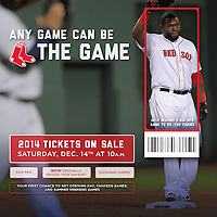 Photograph: Boston Red Sox Promotional Advertisement - 2013