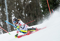 "Manuel Feller (AUT) competes during 1st Run of FIS Alpine Ski World Cup 2017/18 Men's Slalom race named ""Snow Queen Trophy 2018"", on January 4, 2018 in Course Crveni Spust at Sljeme hill, Zagreb, Croatia. Photo by Vid Ponikvar / Sportida"