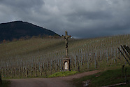 Alsace vineyards Pouget and Ostertag F679