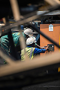 Electrical engineers working on the Usutu Mine