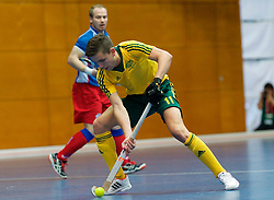 LEIZPIG - WC HOCKEY INDOOR 2015<br /> Foto: CZE v AUS (Pool A)<br /> OGILVIE Flynn<br /> FFU PRESS AGENCY COPYRIGHT FRANK UIJLENBROEK