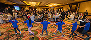 Students from Farias ECC enter the room to give the Pledges during the Keep Houston Beautiful Mayor's Proud Partner Awards luncheon at the Hilton Americas, November 7, 2016.