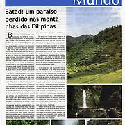 """""""Batad: um paraiso perdido nas montanhas das Filipinas"""" in Cipreste"""