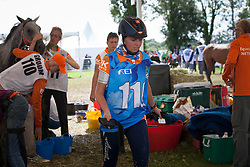 Joyce Van Den Berg, (NED)<br /> Endurance - Alltech FEI World Equestrian Games™ 2014 - Normandy, France.<br /> © Hippo Foto Team - Jantien Van Zon