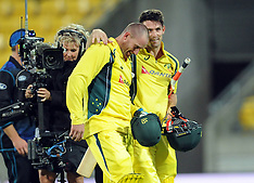 Wellington-Cricket, New Zealand v Australia 2 ODI