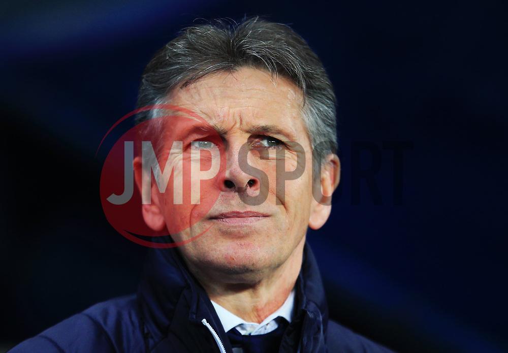 Leicester City manager Claude Puel - Mandatory by-line: Matt McNulty/JMP - 10/02/2018 - FOOTBALL - Etihad Stadium - Manchester, England - Manchester City v Leicester City - Premier League