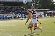 Forest Green Rovers Elliott Frear(11) attempts to control the ball during the The FA Cup 4th qualifying round match between Sutton United and Forest Green Rovers at Gander Green Lane, Sutton, United Kingdom on 15 October 2016. Photo by Shane Healey.