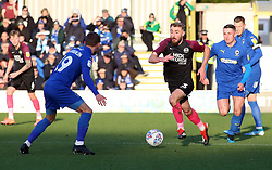 Dan Butler of Peterborough United in action against AFC Wimbledon - Mandatory by-line: Joe Dent/JMP - 18/01/2020 - FOOTBALL - Cherry Red Records Stadium - Kingston upon Thames, England - AFC Wimbledon v Peterborough United - Sky Bet League One