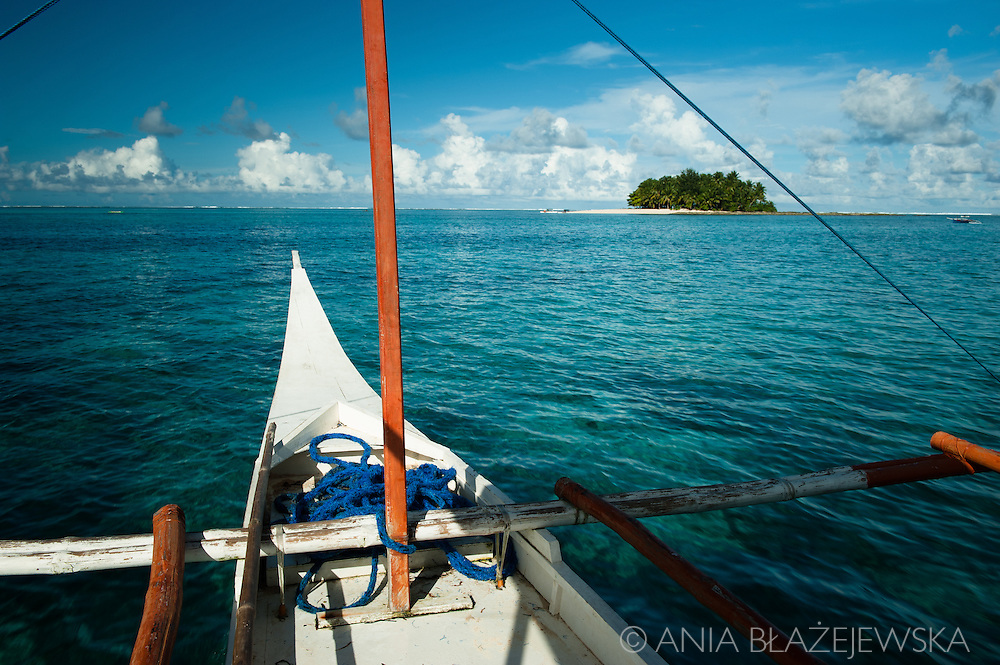 Philippines, Siargao. Guyam Island, one of the tropical islands of the archipelago.