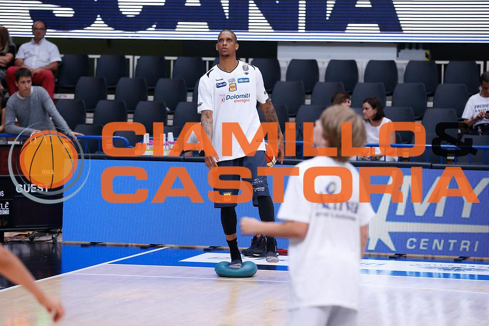 Joao Beto Gomes<br /> Dolomiti Energia Aquila Basket Trento - Umana Reyer Venezia <br /> Lega Basket Serie A 2016/17 Finali Gara 03<br /> Trento, 14/06/2017<br /> Foto Ciamillo-Castoria / M. Brondi