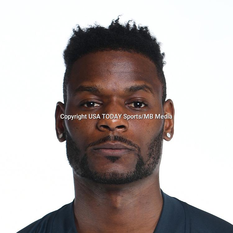 Feb 25, 2017; USA; Philadelphia Union player Maurice Edu poses for a photo. Mandatory Credit: USA TODAY Sports