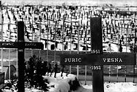 War cemetery, Sarajevo, Bosnia 1998