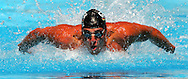 Germany's Oliver Wenzel swims during the men's 50m Butterfly preliminary heat at the FINA World Championships in Montreal, Canada Sunday 24 July, 2005.