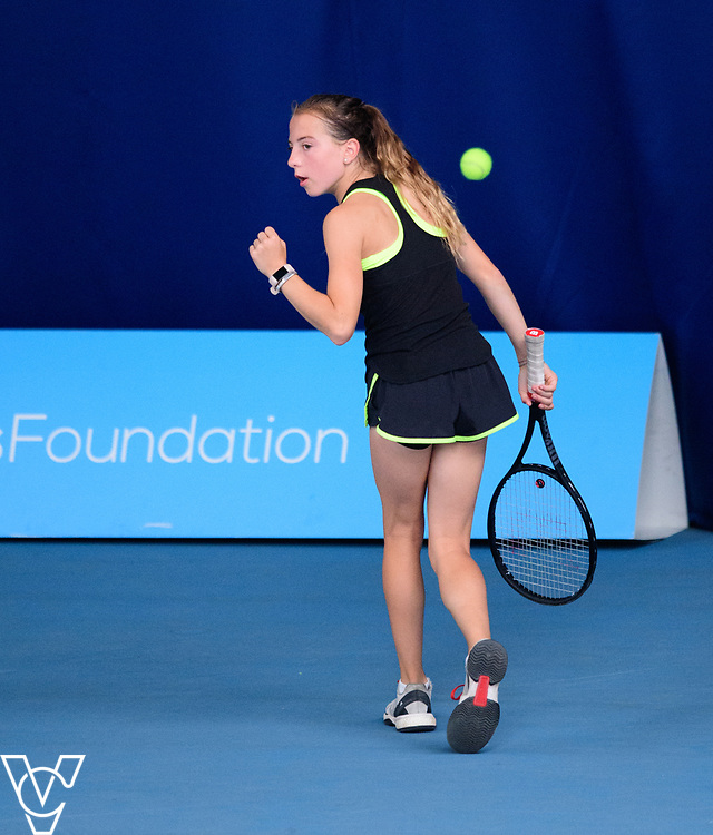 Aberdare Cup - South Hunsley School<br /> <br /> Team Tennis Schools National Championships Finals 2017 held at Nottingham Tennis Centre.  <br /> <br /> Picture: Chris Vaughan Photography for the LTA<br /> Date: July 14, 2017
