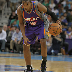 03 December 2008:  Phoenix Suns guard Leandro Barbosa (10) in action during a 104-91 victory by the New Orleans Hornets over the Phoenix Suns at the New Orleans Arena in New Orleans, LA..