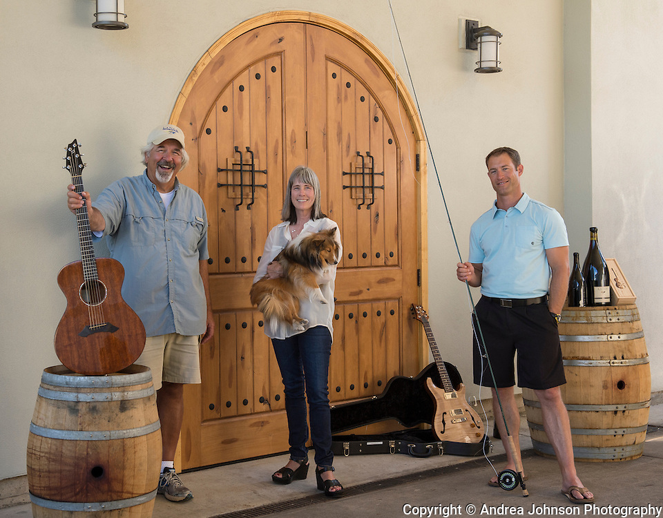 Jesse, Don, & Wendy Lange, Lange Winery, Dundee Hills, Willamette Valley, Oregon