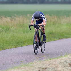 19-06-2019: Wielrennen: NK tijdrijden nieuwelingen junioren: Emmen <br /> Tijmen Graat